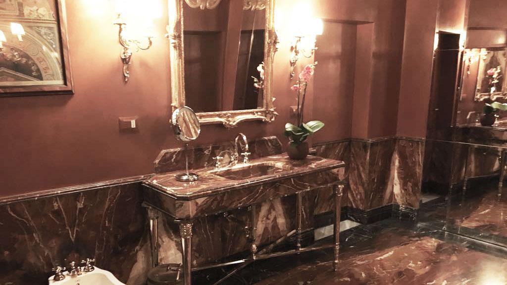 Red Marble Bathroom Fbm Art Marble